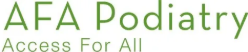 AFA Podiatry Logo